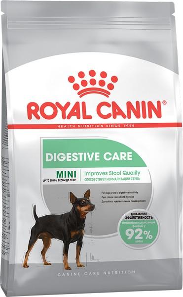 Royal Canin Mini Sensible Digestive Care / Сухой корм Роял Канин Мини Сенсибл для собак Мелких пород с Чувствительным пищеварением