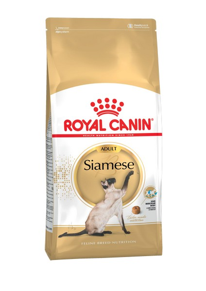 Royal Canin Breed cat Siamese / Сухой корм Роял Канин для взрослых кошек Сиамской породы старше 1 года
