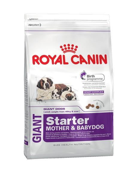 Royal Canin Giant Starter / Сухой корм Роял Канин Джайнт Стартер для Щенков Гигантских пород в возрасте до 2 месяцев