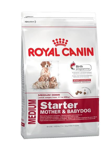 Royal Canin Medium Starter / Сухой корм Роял Канин Медиум Стартер для Щенков Средних пород в возрасте до 2 месяцев
