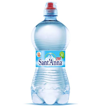 SantAnna Naturale Sport cap / Минеральная вода Санта Анна Природная питьевая столовая Негазированная