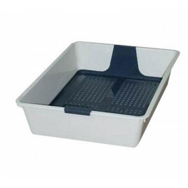 Savic Litter Tray / Туалет-лоток Савик для кошек с вставной пластиковой решеткой