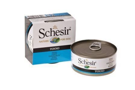 Schesir Консервы для Собак Тунец (цена за упаковку)