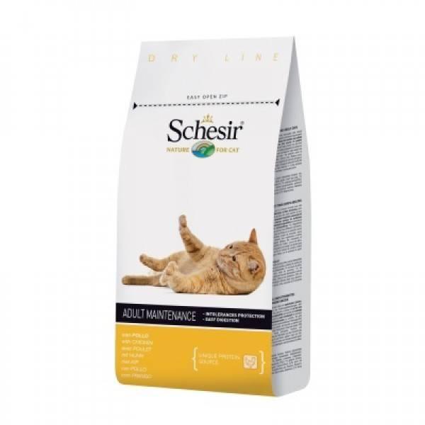 Schesir Сухой корм для Кошек с Курицей