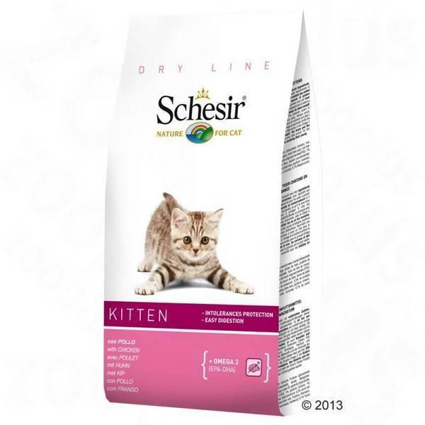 Schesir Kitten Chicken / Сухой корм Шезир для Котят Курица