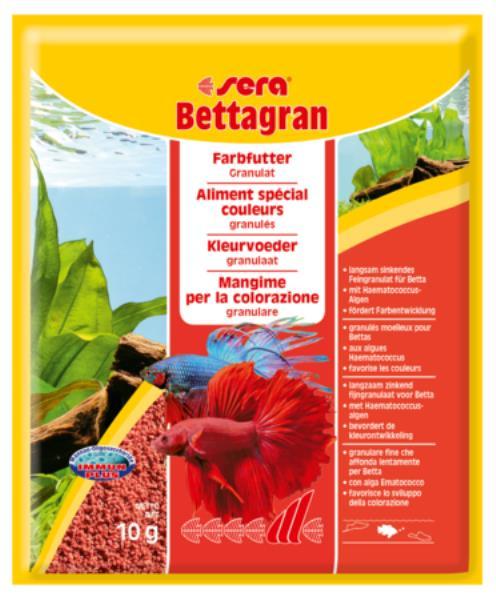 Sera Bettagran / Корм Сера для петушков в гранулах для Яркости окраски