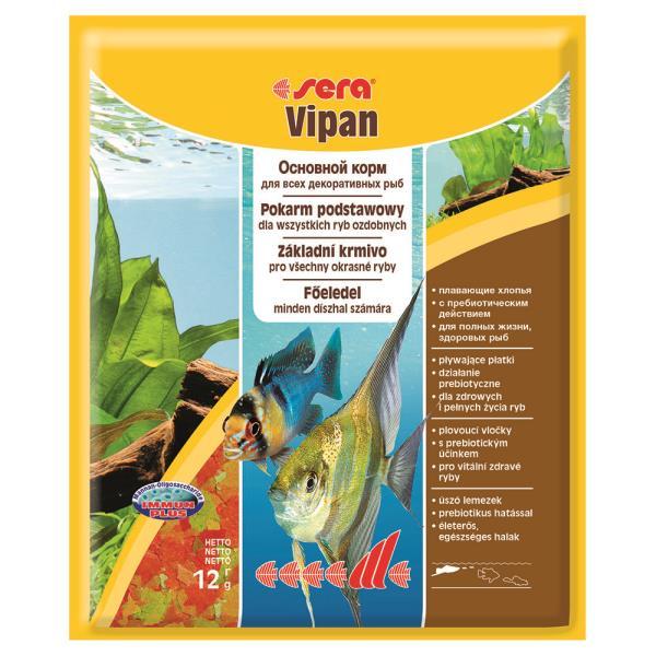Sera Vipan / Корм Сера для рыб Основной в хлопьях