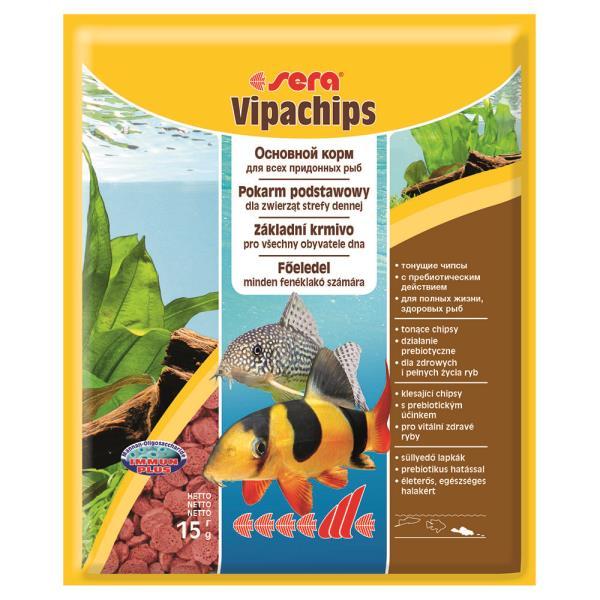 Sera Vipachips / Корм Сера для Сомов и донных рыб