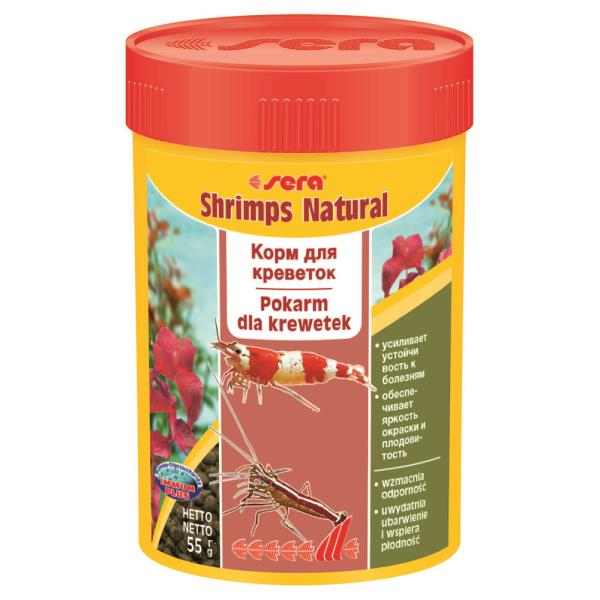 Sera Shrimps Natural / Корм Сера для Креветок