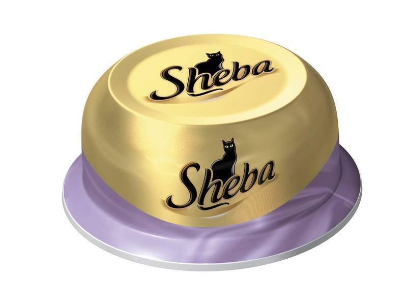 Sheba / Консервы Шеба для кошек Коктейль Тунец и Отборные креветки (цена за упаковку)