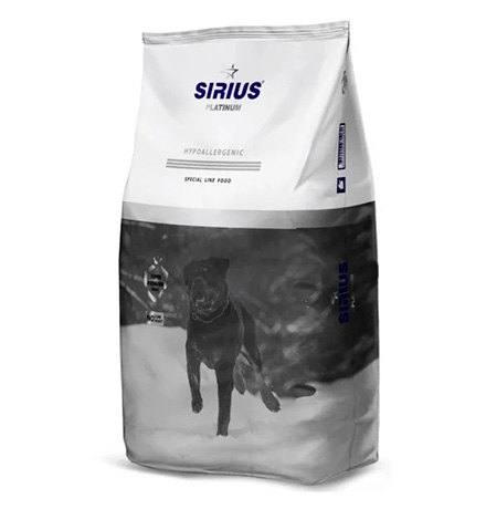 Sirius Platinum / Сухой корм Сириус Платинум для собак Индейка с овощами