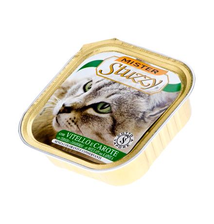 Stuzzy Mister Stuzzy / Консервы Штуззи для кошек Телятина и Морковь (цена за упаковку)