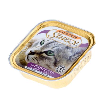 Stuzzy Mister Stuzzy / Консервы Штуззи для кошек Ветчина (цена за упаковку)