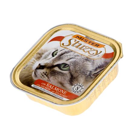 Stuzzy Mister Stuzzy / Консервы Штуззи для кошек Лосось (цена за упаковку)