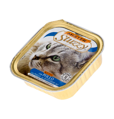 Stuzzy Kitten Mister Stuzzy / Консервы Штуззи для Котят Курица (цена за упаковку)