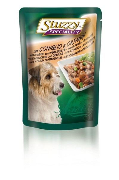 Stuzzy Speciality / Консервы Штуззи для собак Кролик с овощами (цена за упаковку)