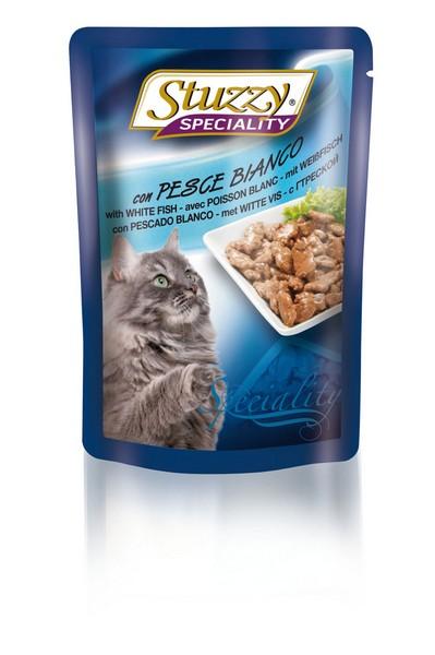 Stuzzy Speciality / Консервы Штуззи для кошек Треска (цена за упаковку)