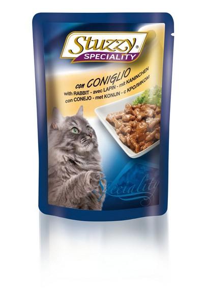 Stuzzy Speciality / Консервы Штуззи для кошек Кролик (цена за упаковку)