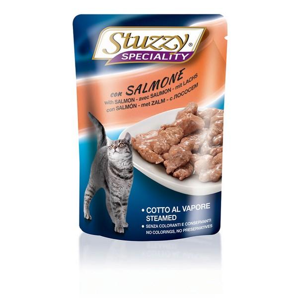 Stuzzy Speciality / Консервы Штуззи для кошек Лосось (цена за упаковку)