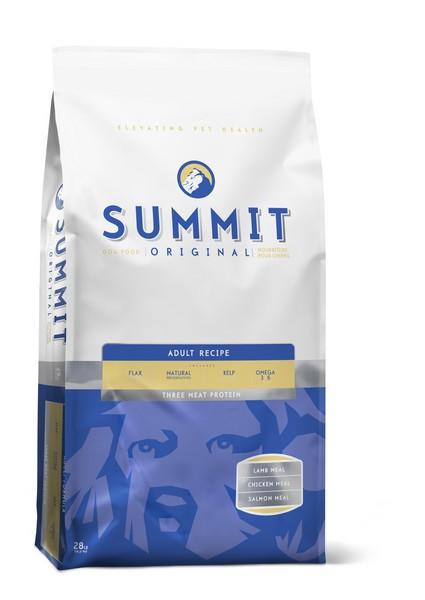 Summit holistic Original Three Meat Adult Recipe / Сухой корм Саммит Ориджинал для взрослых собак 3 вида мяса Цыпленок Лосось Ягненок
