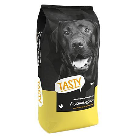 Tasty / Сухой корм Тейсти для собак Вкусная Курица