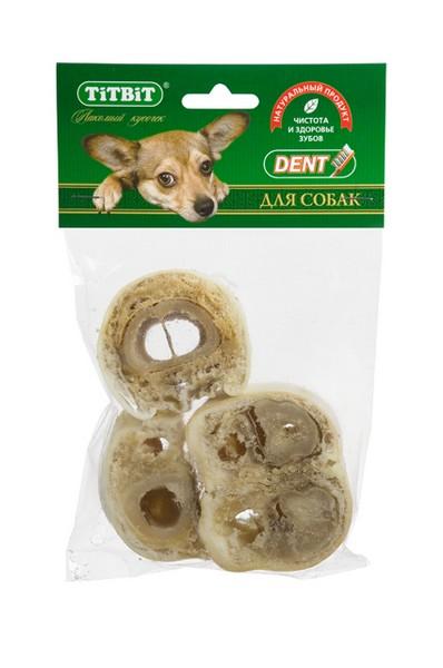 Titbit Dental+ Лакомый кусочек / Лакомство Титбит для собак Крутон Говяжий