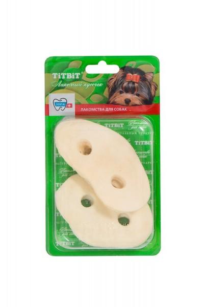 Titbit Dental+ Лакомый кусочек / Лакомство Титбит для собак Пятачок диетический Говяжий Б2-М