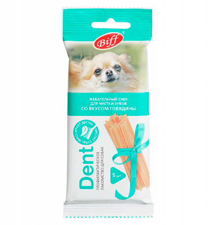 Titbit Biff Dent / Лакомство Титбит для собак Мелких пород Жевательный снек со вкусом Говядины
