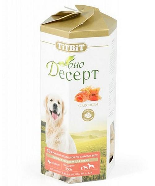 Titbit Био Десерт / печенье Титбит для собак с Лососем Standart для Дрессуры