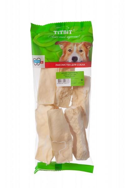 Titbit Dental+ Лакомый кусочек / Лакомство Титбит для собак Крекер Говяжий XL для Чистки зубов