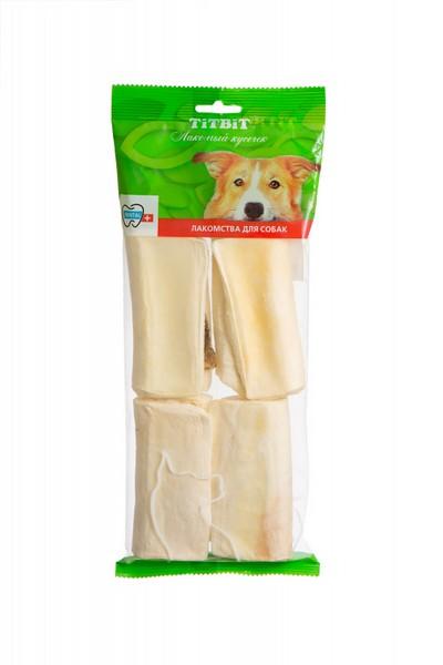Titbit Dental+ Лакомый кусочек / Лакомство Титбит для собак Сэндвич с рубцом говяжьим XL для Чистки зубов