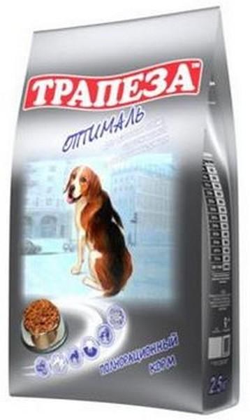 Трапеза Оптималь / Сухой корм для собак, содержащихся в городских условиях