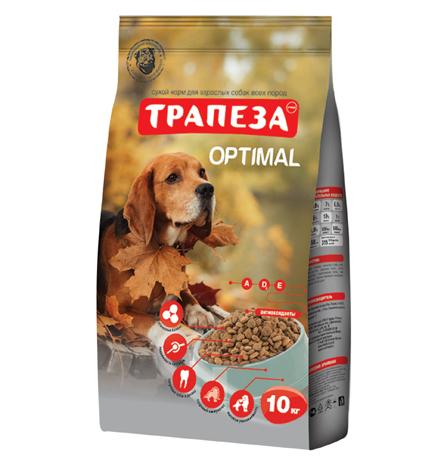 Трапеза Optimal / Сухой корм для взрослых собак в Городских условиях
