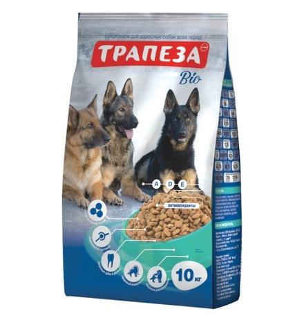 Трапеза Bio / Сухой корм для взрослых собак с Нормальной активностью