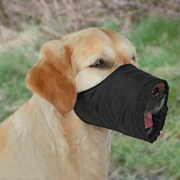 Trixie / Намордник Трикси для собак Нейлон Черный