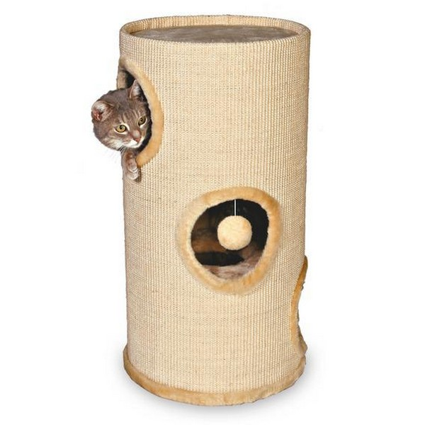 Trixie Samuel / Домик-башня Трикси для кошки Плюш/Сизаль