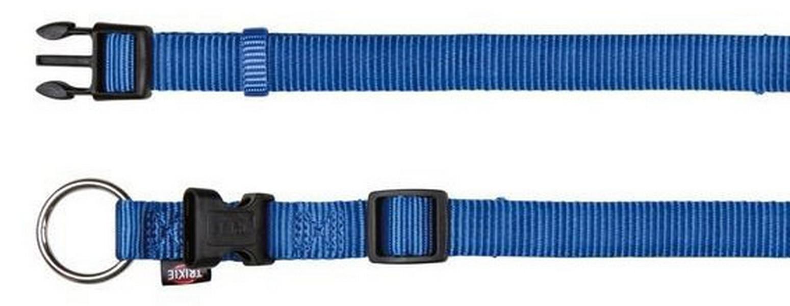 Trixie Premium ошейник для собак Синий