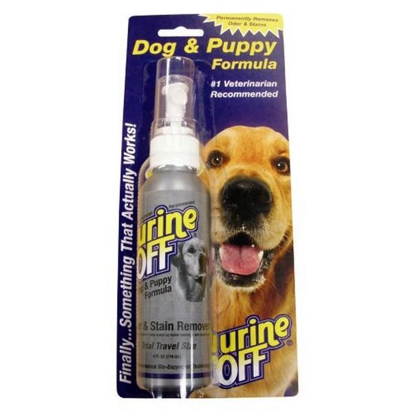 Urine Off Dog & Puppy Odor and Stain Remover / Средство Юрин Офф для уничтожения пятен и запахов от Собак и Щенков Спрей в блистере