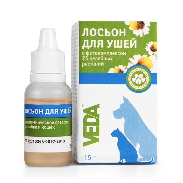 Veda / Лосьон для Ушей с Фитокомплексом 25 целебных растений