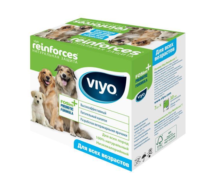 VIYO Reinforces Dog All Ages / Пребиотический напиток Вийо для собак всех возрастов