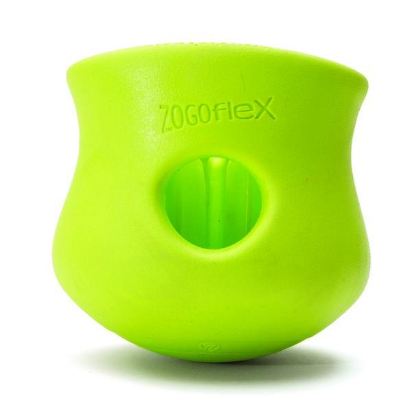 West Paw Zogoflex Toppl / Игрушка Вест По Зогофлекс для собак под Лакомства Зеленая