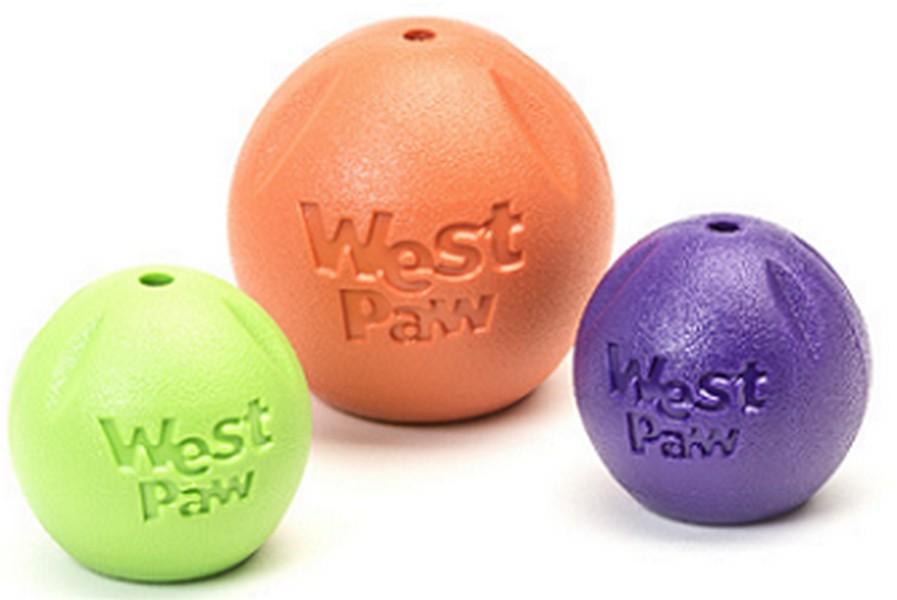 West Paw Zogoflex Rando / Игрушка Вест По Зогофлекс для собак Мячик ? 9 см