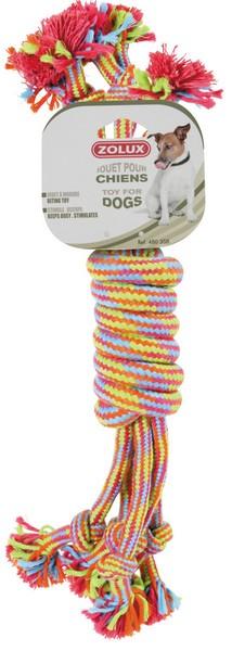 Zolux / Игрушка Золюкс для собак Катушка Веревочная Цветная