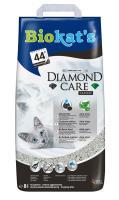 Biokats Diamond Care Classic / Комкующийся наполнитель Биокэтс для кошачьего туалета с Активированным углем и Алоэ вера