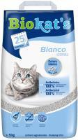Biokats Bianco Classic / Комкующийся наполнитель Биокэтс для кошачьего туалета Белый