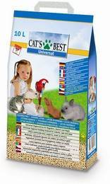Cats Best Universal / Наполнитель для кошачьего туалета Кэтс Бест Юниверсал Древесный впитывающий