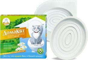 ДомаКот - система приучения кошки к унитазу
