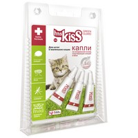 ms KisS / Капли Мисс Кисс для Котят и маленьких кошек Репеллентные 1 мл